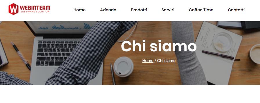 Nuovo sito Webinteam